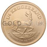 Gold Quarter Krugerrand