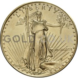 1991 1 oz Gold America Eagle