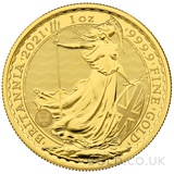 Britannia One Ounce Gold Coin (2021)