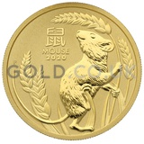 Gold Perth Mint Year of the Mouse 1oz (2020)