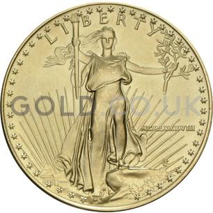1988 1 oz Gold America Eagle