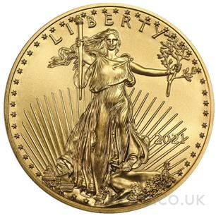 1oz American Eagle Gold Coin (2021)