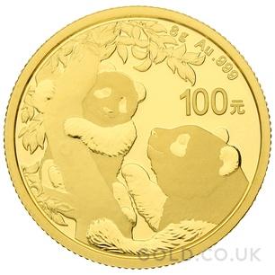 Gold Panda 8 gram (2021)