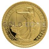 1999 Tenth Ounce Proof Britannia
