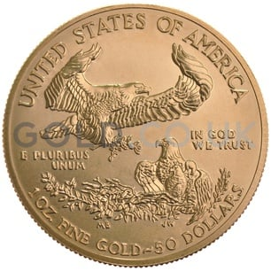 1988 1/4 oz Gold America Eagle