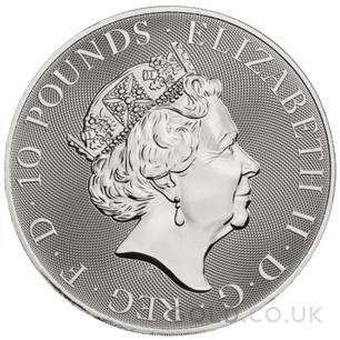 Silver Royal Arms 10oz (2021)