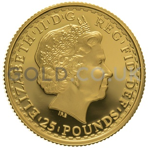 1998 Quarter Ounce Proof Britannia