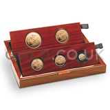 Gold Proof Sovereign Five Coin Boxed Set (2015)
