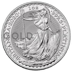 Platinum 1oz Britannia (2020)