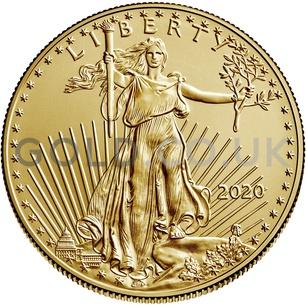 1oz American Eagle Gold Coin (2020)