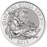 Valiant One Ounce Silver Coin (2019)