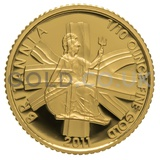 2011 Tenth Ounce Proof Britannia