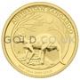 Gold Quarter Nugget