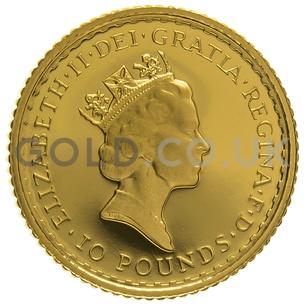 1995 Tenth Ounce Proof Britannia