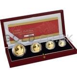 Proof Gold Britannia 4-Coin Box Set (2002)
