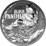 1oz Silver Black Panther (2018)