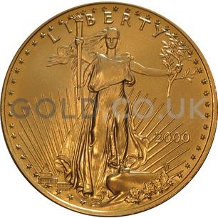 2000 1 oz Gold America Eagle