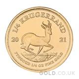 Gold Krugerrand 1/4oz (2021)
