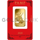 1oz PAMP Gold Year of the Rat (2020)