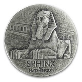 Sphinx of Hatshepsut 5-Ounce Silver Coin (2019)