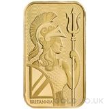 1oz Britannia Minted Gold Bar