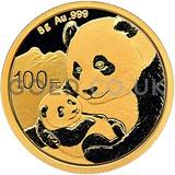 Gold 8 Gram Panda