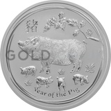 Silver Perth Mint Year of the Pig 2oz (2019)