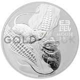 Silver Perth Mint Year of the Mouse 1KG (2020)