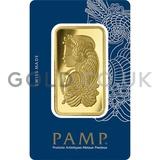 50g PAMP Gold Bar