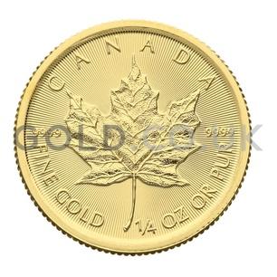 Quarter Ounce Gold Maple (2020)