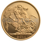 Gold Double Sovereign