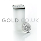 Silver Falcon of the Plantagenets Tube of 10 x 2oz (2019)