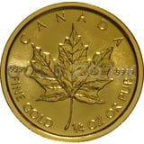 Gold Maple Quarter Ounce (2017)