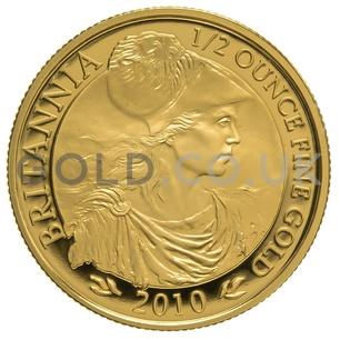 2010 Half Ounce Proof Britannia