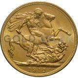 1912 George V Gold Sovereign (Melbourne Mint)