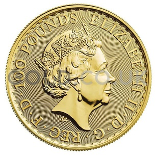 Britannia One Ounce Gold Coin (2019)