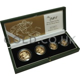 Gold Proof Sovereign Four Coin Boxed Set (2004)