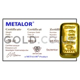 100g Gold Bar (Best Value)