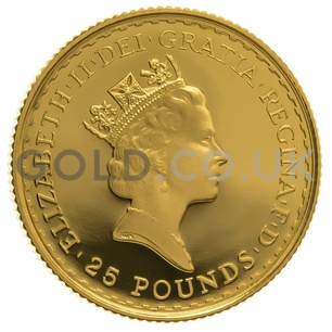 1997 Quarter Ounce Proof Britannia
