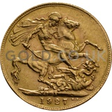 1927 George V Gold Sovereign (South Africa Mint)