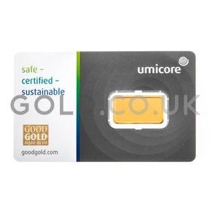 2.5g Umicore Gold Bar