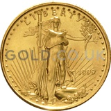 1999 1/10 oz Gold America Eagle