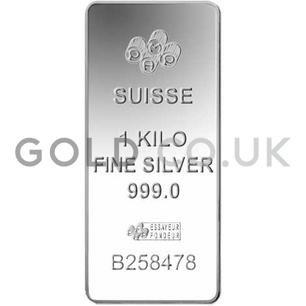 1 Kilo PAMP Minted Silver Bar