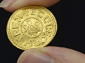 Rare gold penny estimated to fetch up to £200,000 at auction