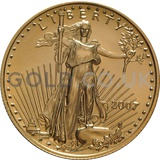 2007 1/2 oz Gold America Eagle