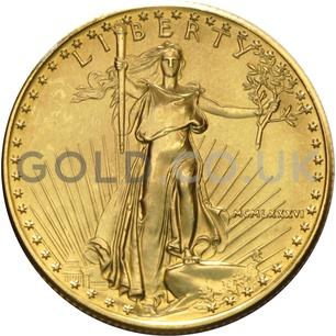 1986 1/2 oz Gold America Eagle