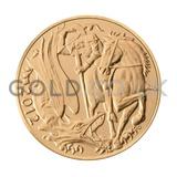 2012 Elizabeth II Fourth Head Gold Half Sovereign