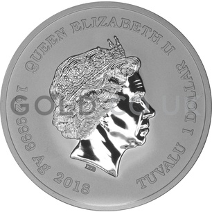 1oz Silver Iron Man (2018)