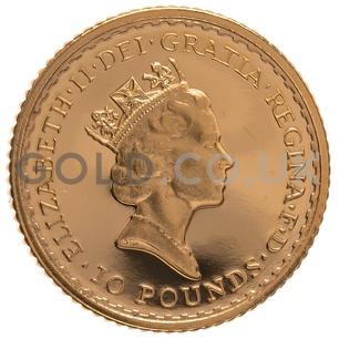 1987 Tenth Ounce Proof Britannia