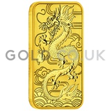 1oz Dragon Rectangular Coin (2018)